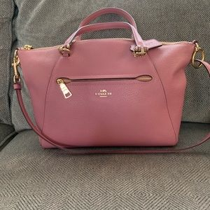 Pink/mauve Coach purse